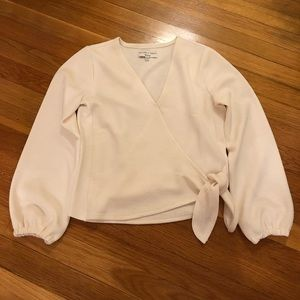 White Madewell Texture and Threat shirt size XXS